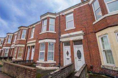 3 Bedrooms Flat for sale in Simonside Terrace, Newcastle upon Tyne, Tyne and Wear, NE6