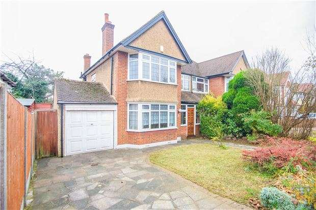 3 Bedrooms Semi Detached House for sale in Aston Avenue, Kenton, HARROW, Middlesex, HA3 0DB