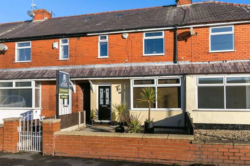 3 Bedrooms Semi Detached House for sale in Harlea Avenue, Hindley Green, WN2 4SL