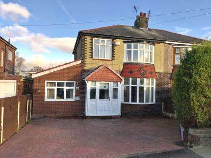 4 Bedrooms Semi Detached House for sale in Birch Lane, Dukinfield, Greater Manchester