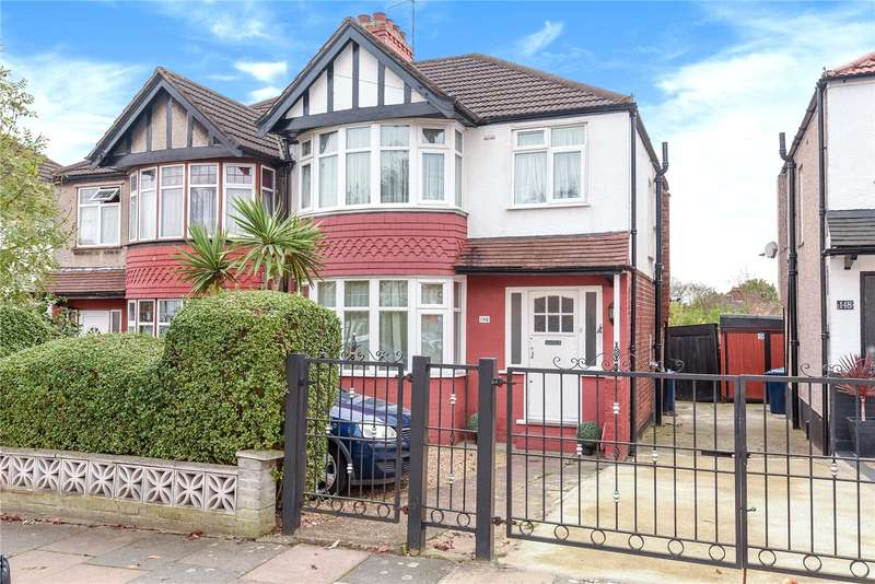 3 Bedrooms Semi Detached House for sale in Rydal Crescent, Perivale, Greenford, UB6