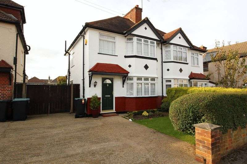 3 Bedrooms Semi Detached House for sale in SPENCER ROAD, CATERHAM ON THE HILL