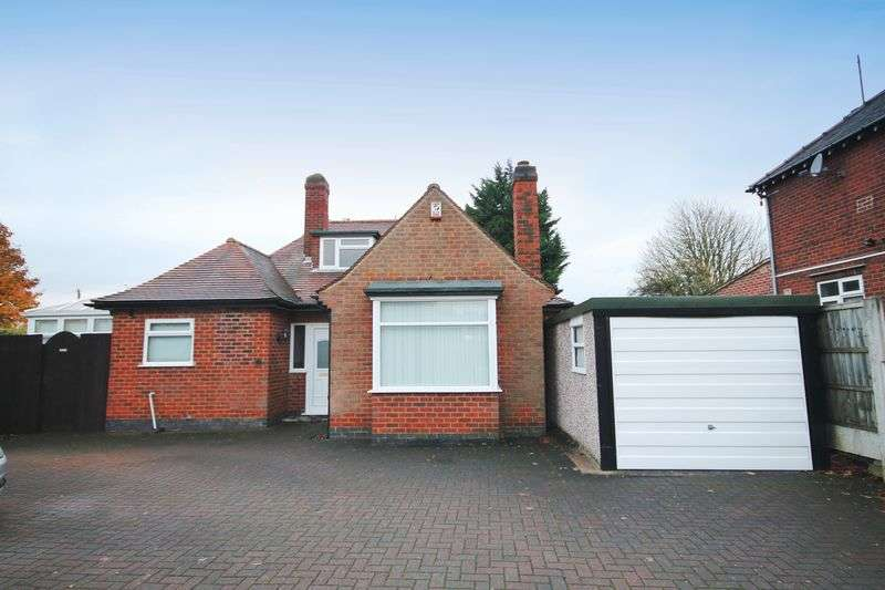 3 Bedrooms Detached Bungalow for sale in Warwick Avenue, Derby