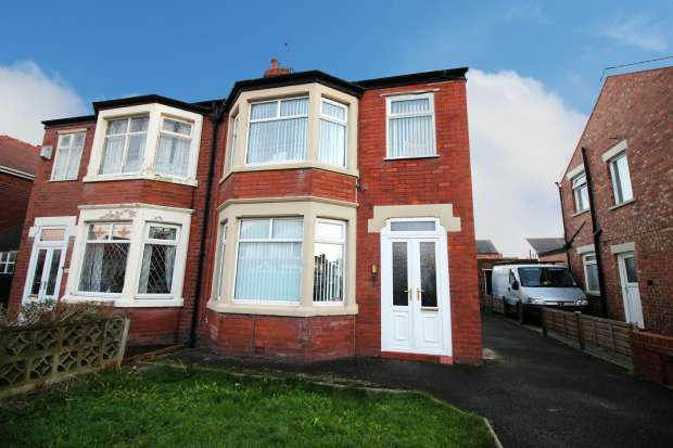 3 Bedrooms Semi Detached House for sale in Tewkesbury Avenue, Blackpool, Lancashire, FY4 2NF