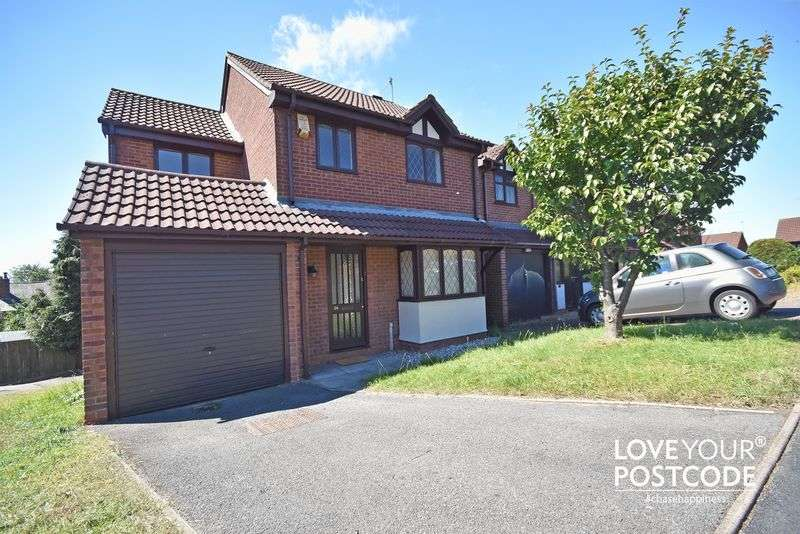 4 Bedrooms Detached House for sale in Rough Hill Drive, Rowley Regis B65 8LS