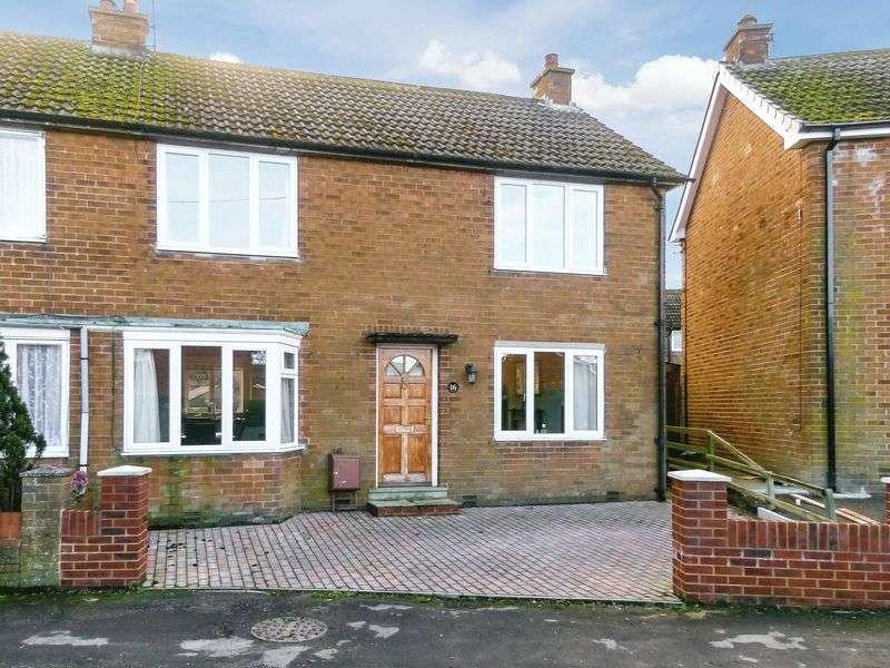 3 Bedrooms Semi Detached House for sale in Westholme Crescent, Masham