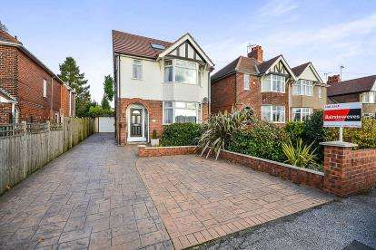 4 Bedrooms Detached House for sale in Sutton Road, Mansfield, Nottinghamshire