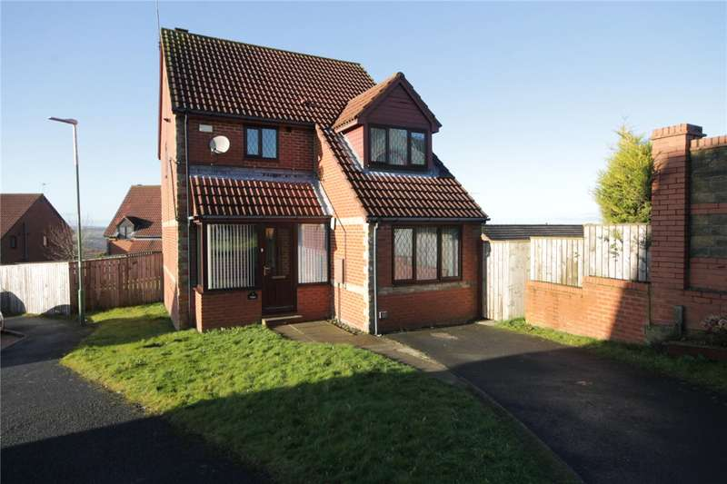 3 Bedrooms Detached House for sale in Romany Drive, Consett, County Durham, DH8