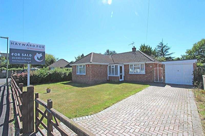 2 Bedrooms Detached Bungalow for sale in Chestnut Road, Brockenhurst