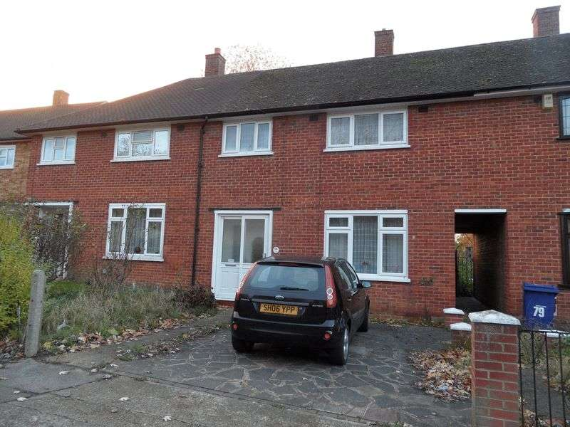 3 Bedrooms Terraced House for sale in Teviot Avenue, Aveley, South Ockendon Essex
