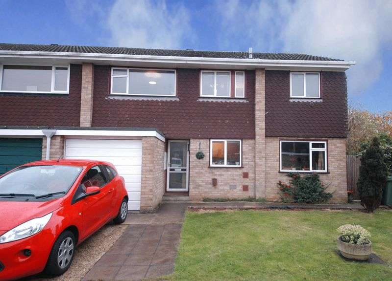 4 Bedrooms Semi Detached House for sale in Cudham Close, Vinters Park, Maidstone