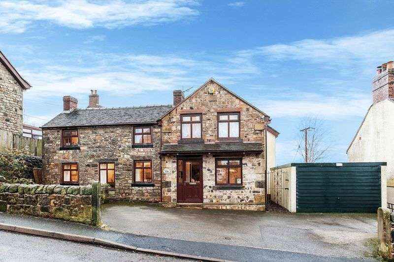 4 Bedrooms Detached House for sale in Wood Street, Mow Cop