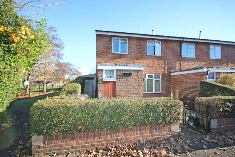 2 Bedrooms Semi Detached House for sale in Weatherall Close, Addlestone, Surrey, KT15