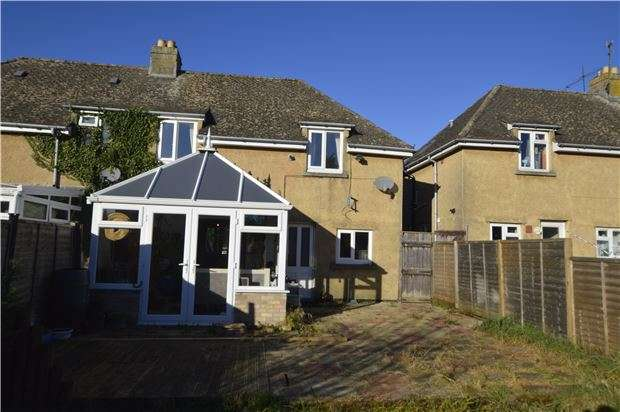 3 Bedrooms Semi Detached House for sale in Paganhill Estate, STROUD, Gloucestershire, GL5 4AU