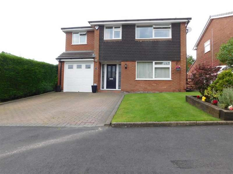4 Bedrooms Property for sale in Crompton Close, Marple, Stockport