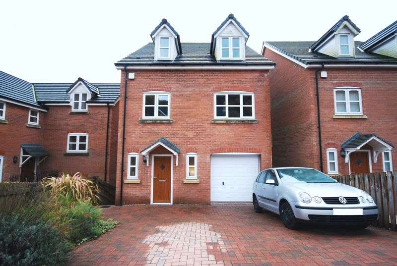 4 Bedrooms Detached House for sale in 6 Garwed Gardens, Abergarwed, Neath, SA11 4EA