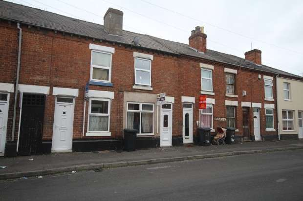 2 Bedrooms Terraced House for sale in Princes Street, Derby, DE23