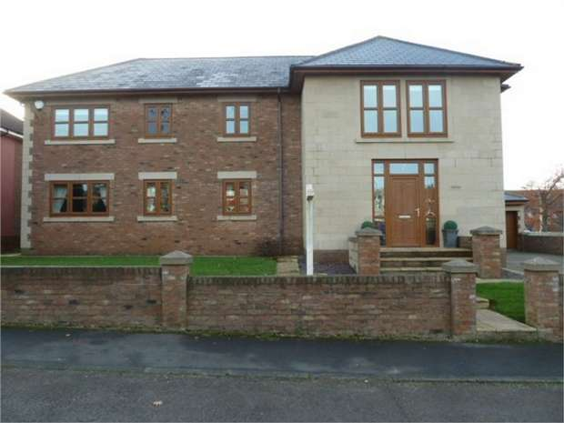 5 Bedrooms Detached House for sale in Newcastle Road, Crossgate Moor, Durham