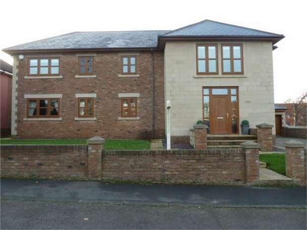 5 Bedrooms Detached House for sale in Newcastle Road, Crossgate Moor, Durham