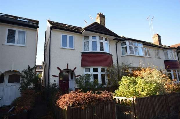 4 Bedrooms Semi Detached House for sale in Strafford Road, Twickenham