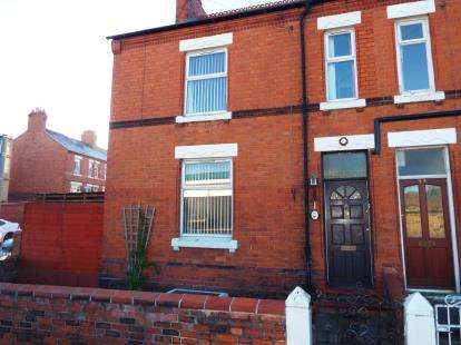 3 Bedrooms End Of Terrace House for sale in Watery Road, Wrexham, Wrecsam, LL13