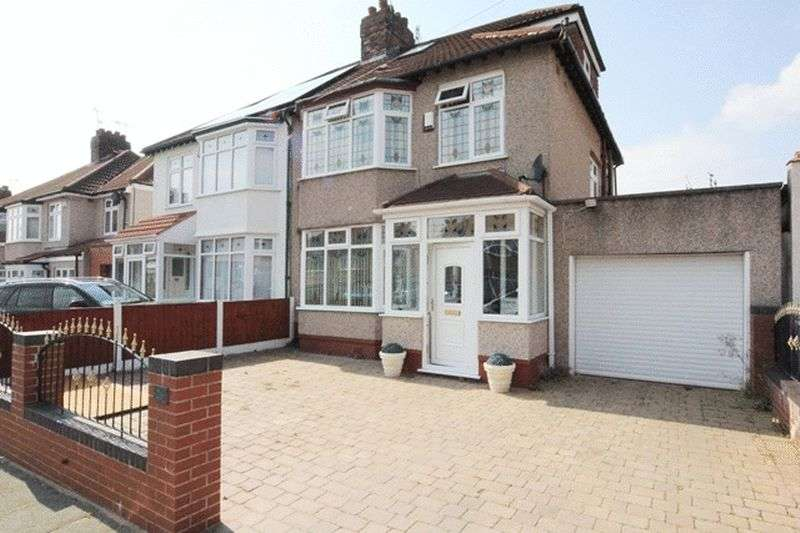 4 Bedrooms Semi Detached House for sale in Varley Road, Grassendale, Liverpool, L19