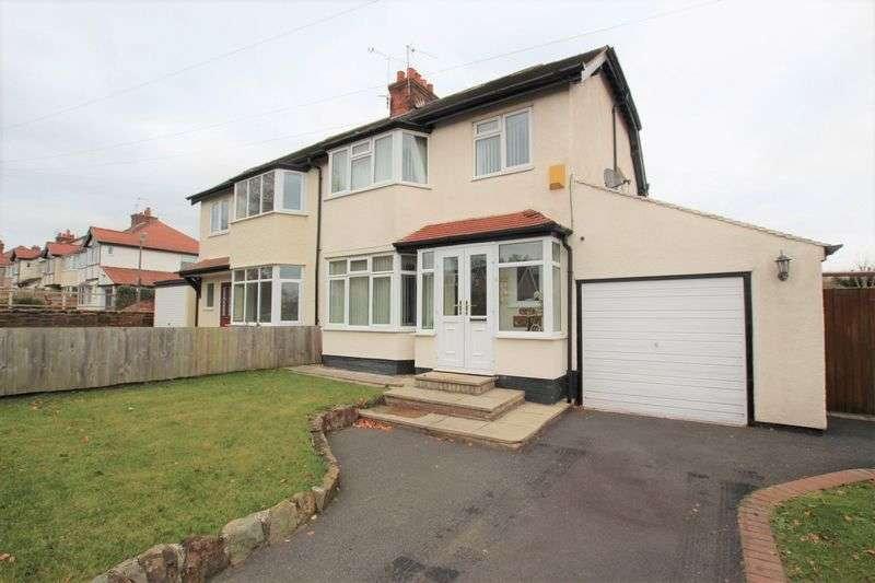 3 Bedrooms Semi Detached House for sale in Irby Road, Heswall