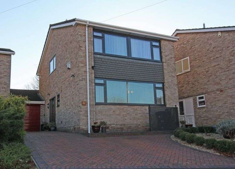4 Bedrooms Detached House for sale in SUBSTANTIAL 4 bedroomed link detached house, offering enormous potential for extension (subject to planning). This much improved property boasts a ne