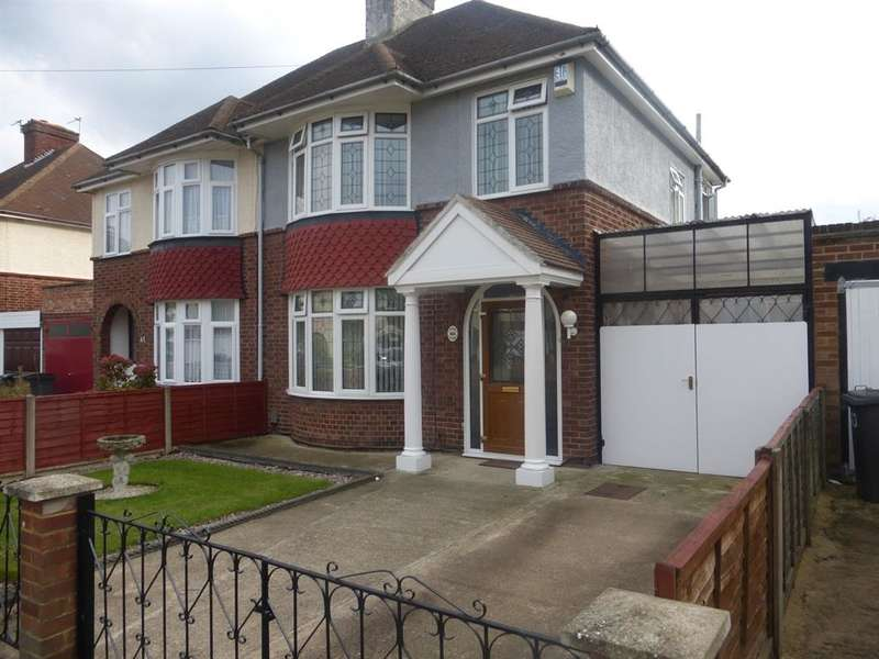 3 Bedrooms Semi Detached House for sale in Harewood Road, Bedford, MK42