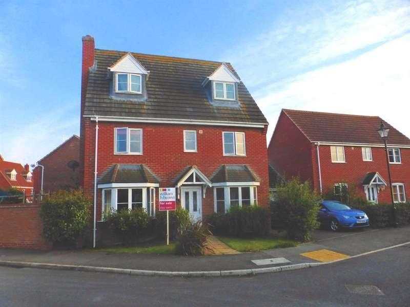 5 Bedrooms Detached House for sale in Elder Close, Witham St. Hughs, Lincoln, LN6