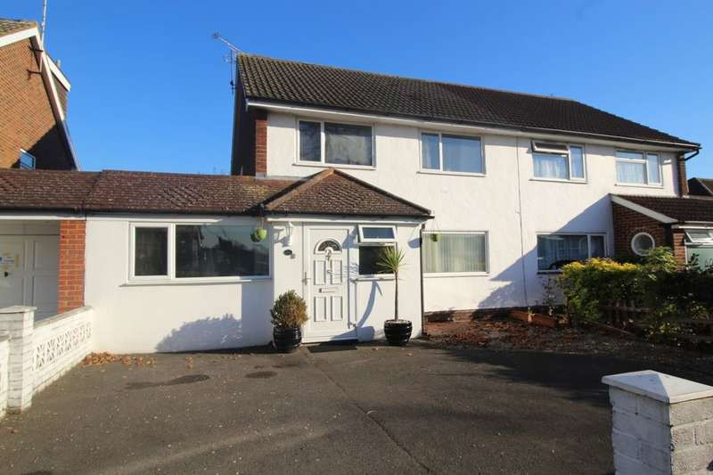 4 Bedrooms Semi Detached House for sale in Hadrian Way, Stanwell, Staines-Upon-Thames, TW19
