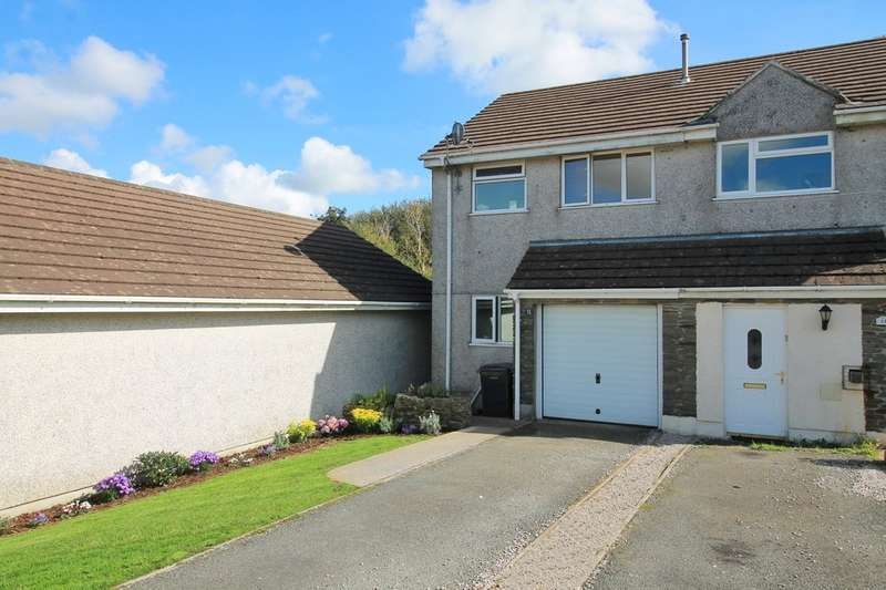 3 Bedrooms Semi Detached House for sale in Loddiswell, Kingsbridge