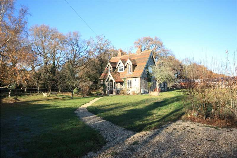 4 Bedrooms Detached House for sale in Chapel Lane, Oakwood, Chichester, West Sussex, PO18
