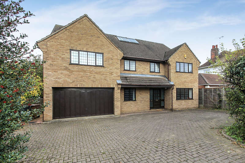 5 Bedrooms Detached House for sale in Oundle Road, Orton Longueville, Peterborough, PE2