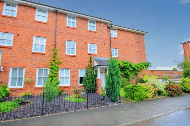 4 Bedrooms Terraced House for sale in Trent Close, Stone