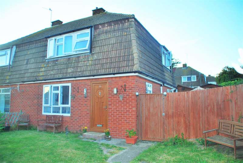 3 Bedrooms Semi Detached House for sale in ROBSON DRIVE, HOO ST. WERBURGH
