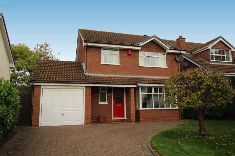 4 Bedrooms Detached House for sale in Sir Alfreds Way, New Hall, Sutton Coldfield, B76 1ET
