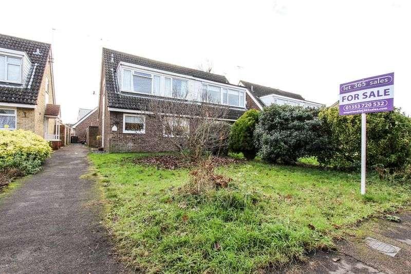3 Bedrooms Semi Detached House for sale in Guntons Close, Soham