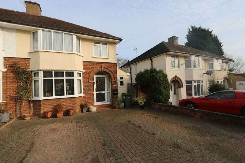 3 Bedrooms Semi Detached House for sale in Beechcroft Road, Milton Keynes