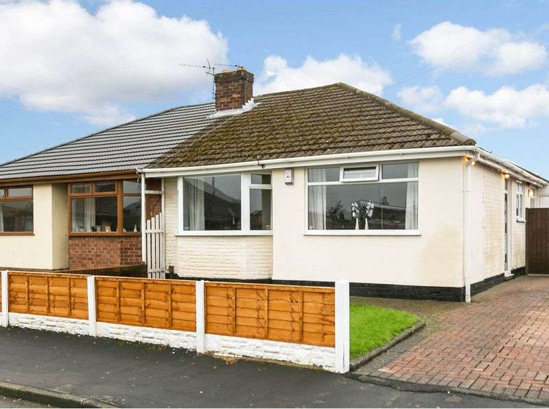 3 Bedrooms Semi Detached Bungalow for sale in Chimes Road, Ashton-in-Makerfield, WN4 0LA