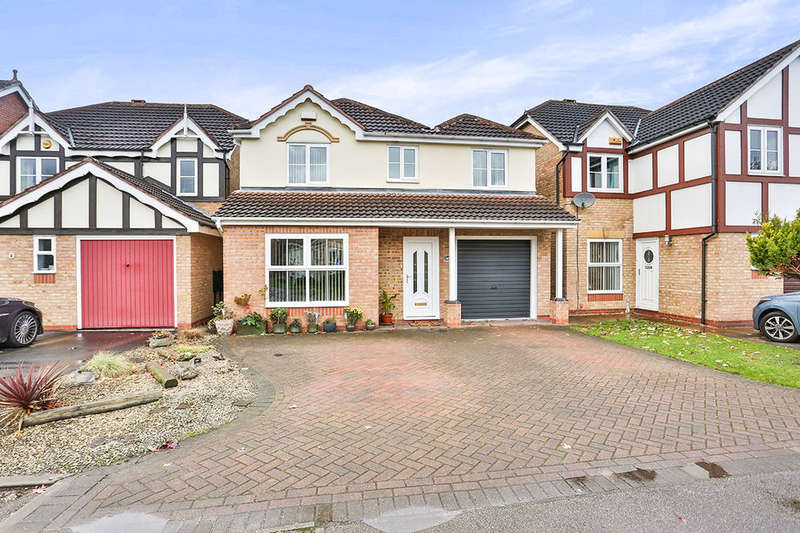 4 Bedrooms Detached House for sale in Forge Mill Grove, Hucknall, Nottingham, NG15