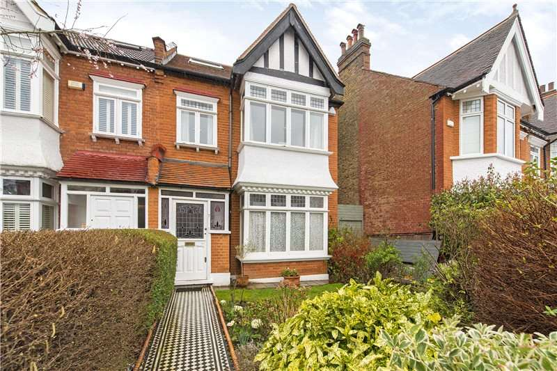 4 Bedrooms Semi Detached House for sale in Madrid Road, Barnes, SW13