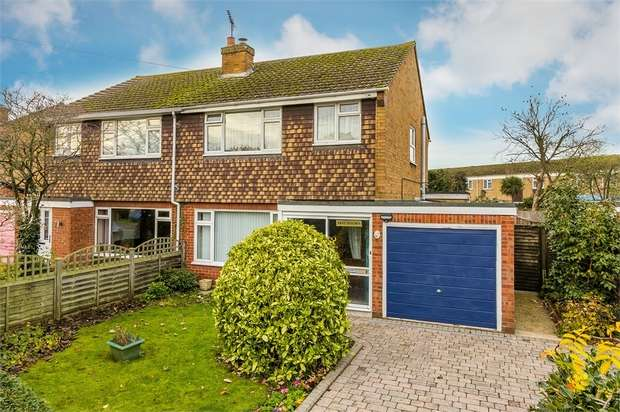 3 Bedrooms Semi Detached House for sale in Hurtwood Road, WALTON-ON-THAMES, Surrey