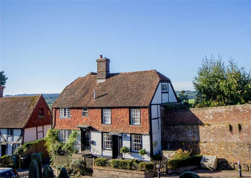 2 Bedrooms Semi Detached House for sale in School Hill, Burwash