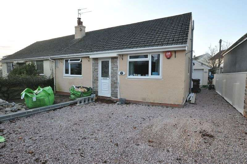 2 Bedrooms Semi Detached Bungalow for sale in Paignton Road, Totnes
