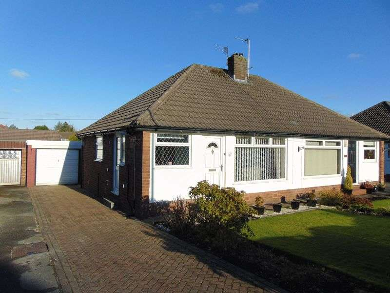 2 Bedrooms Semi Detached Bungalow for sale in Chiltern Drive, Walshaw Park, Bury