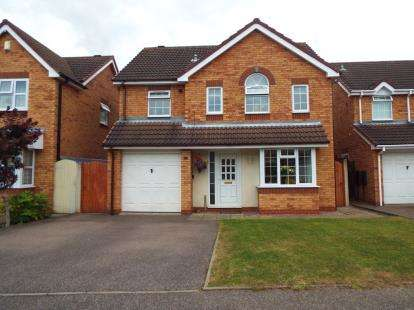 4 Bedrooms Detached House for sale in Selker Drive, Amington, Tamworth, Staffordshire
