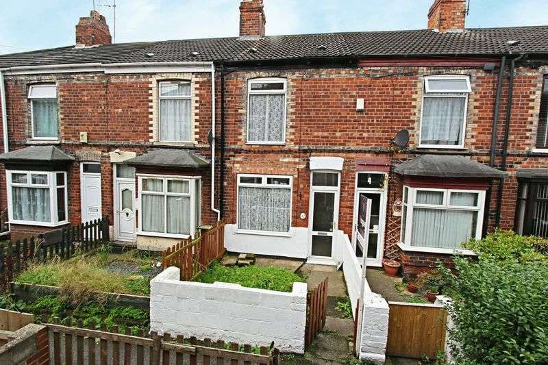 2 Bedrooms Terraced House for sale in Granville Villas, Hull