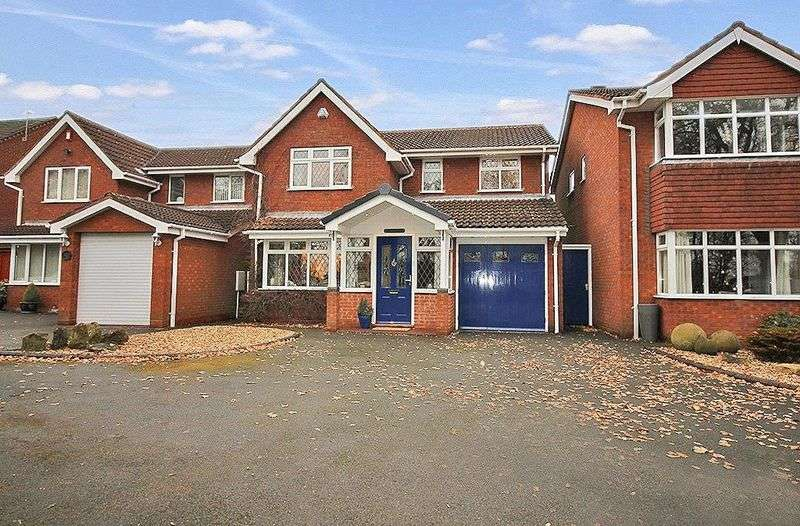 4 Bedrooms Detached House for sale in High Hill, Essington, Wolverhampton