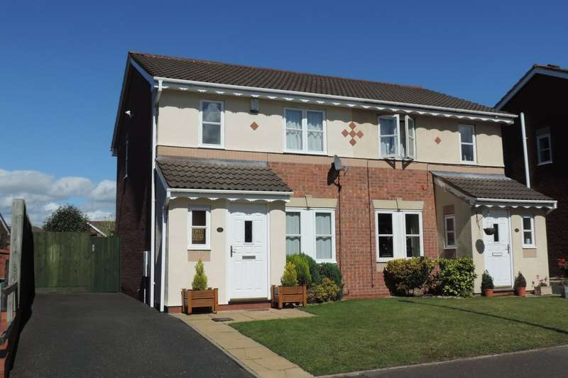 3 Bedrooms Semi Detached House for sale in Helston Close, Saxonfields